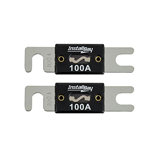 100a Wire (Install Bay ANL100-10 - 100 Amp ANL Fuses (10 Pack))