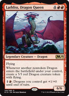 Magic: The Gathering - Lathliss, Dragon Queen - Core Set 2019