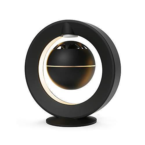 Levitating Speaker,KABADDI Floating Bluetooth Speaker with 3D Surround Sound,360 Degree Rotation,for Home Office Desk Decor,Gift Ideal(Black)