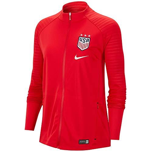 Nike Womens USA Soccer Anthem Jacket (Medium, Red)