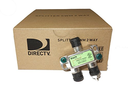 - Directv SWM Approved 2-Way Wide Band Splitter (Case of 20)