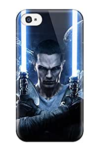 Durable Star Wars Force Unleashed Back Case/cover For Iphone 4/4s