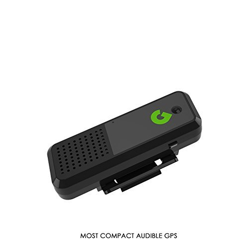 GoGolf GPS - Bluetooth Golf GPS Rangefinder World's Most Compact + Voice