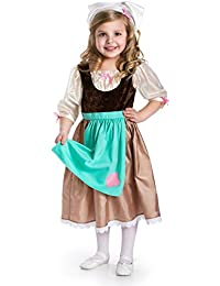 Traditional Cinderella Day Dress Girls Costume - X-Large (7-9 Yrs)