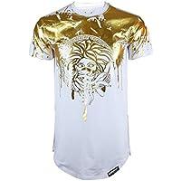 SCREENSHOT Screenshotbrand Mens Hipster Hip-Hop Premiun Tees - Stylish Longline Latest Fashion Print T-Shirts