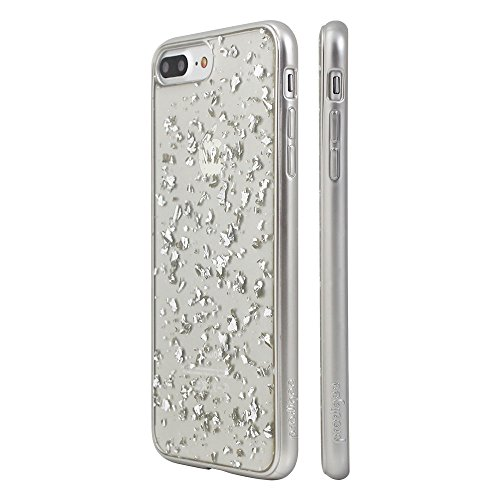 """Prodigee [Scene Treasure] Silver iPhone 7 Plus 5.5"""" Phone case clear claro transparenteCaso, Flessibile Protettiva, Durevole, Shock Assorbimento, Custodia protettiva, delle casse del telefono copertur"""
