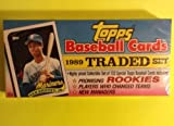 1989 Topps Traded Baseball Complete Factory Sealed