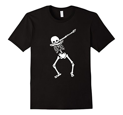 Mens Cool Dabbing Skeleton T Shirt Dab Hip Hop Funny Dance Gift Medium Black