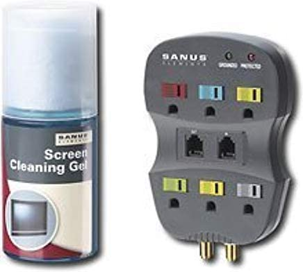 HD Essentials Surge Protector and Screen Cleaning Gel