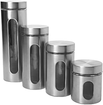 Anchor Hocking 4-Pc. Palladian Canister Set