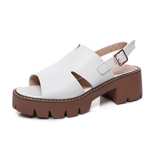 Blanc Plateforme Blanc Femme BalaMasa 36 ASL05385 5 7qwvII