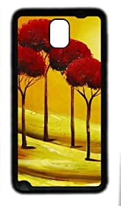 galaxy note 3 case,custom samsung galaxy note 3 case,TPU (Rubbber) Material,Drop Protection,Shock Absorbent,black case,Four tree
