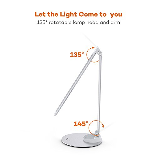 Taotronics Led Desk Lamp With Usb Charging Port Eye Care