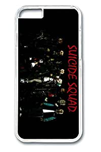 iPhone 6 plus Case, 6 plus Case - Crystal Clear Hard Case Cover for iPhone 6 plus Suicide Squad 4 New Release Clear Case Bumper for iPhone 6 plus 5.5 Inches