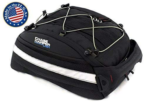 Chase Harper USA 5400 CR2 Tail Trunk - Water-Resistant, Tear-Resistant, Industrial Grade Ballistic Nylon with Adjustable Bungee Mounting System for Universal Fit, 14