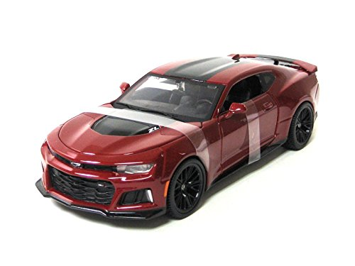 Edition Display Special (Maisto New 1:24 Display Special Edition Collection - Red 2017 Chevrolet Camaro ZL1 Diecast Model Car (Without Retail Box))