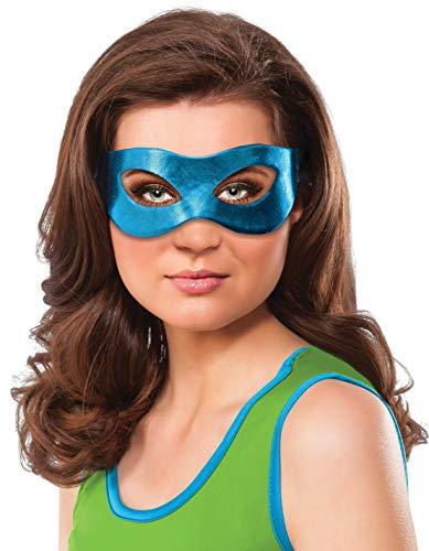 Rubie's Women's Ninja Turtles Leonardo Eye Mask, One -