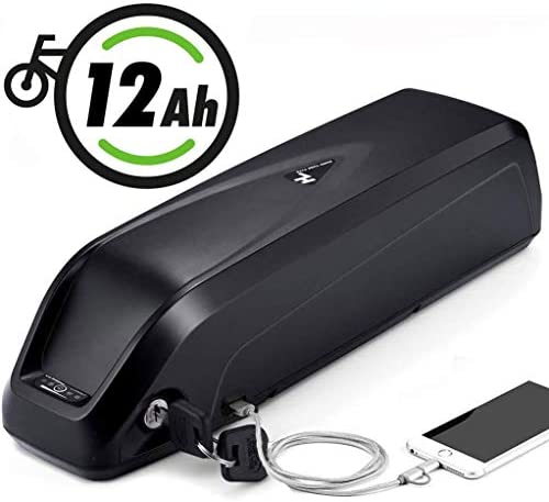 USBポート付き電動自転車バッテリー、自転車バッグ付き36V 48V 12.5Ah HailongリチウムE-バイクバッテリー、屋外バックアップ電源の電気が500Wモーター用バッテリーの自転車,36v