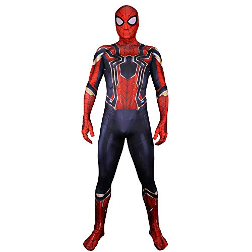 Happy Costumes Unisex Lycra Spandex Zentai Halloween Cosplay Costumes Adult/Kids 3D Style