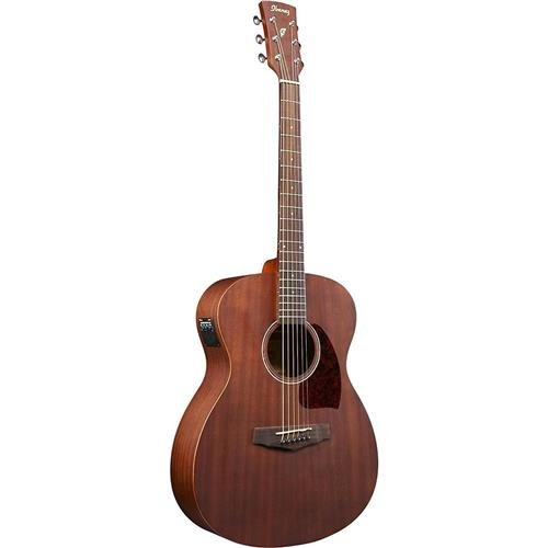 Ibanez PC12MHE 6 String Performance Grand Concert Acoustic Electric Guitar, 20 Frets, PC Neck, Rosewood Fretboard, Satin Polyurethane, Open Pore Natural ()