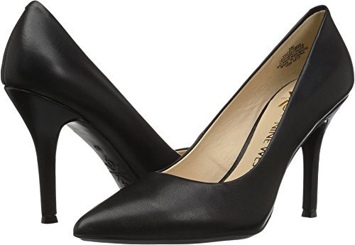 Nine West Women's FIFTH9X Fifth Pointy Toe Pumps Black Leather/Leather sale eastbay free shipping pick a best cheap sale huge surprise outlet locations cheap price 9pfF0XXj