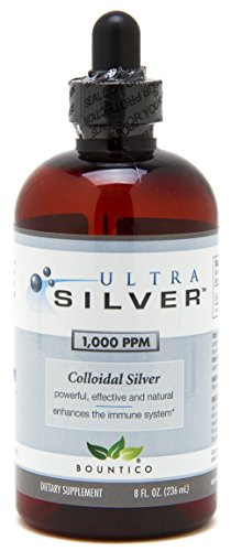 Ultra Silver Colloidal Silver 1000 PPM - 8 Oz