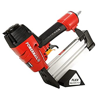 Image of Home Improvements Powernail Model 50F, 18-Gauge Cleat Nailer for Engineered Wood Flooring (3/8' to 3/4' thick)
