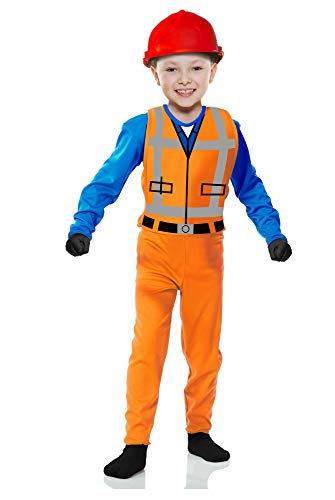 Charades Little Boy's The Builder Childrens Costume, as Shown, -
