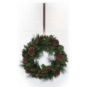 Haute Decor Adjustable Metal Wreath Hanger, Oil-Rubbed Bronze 3