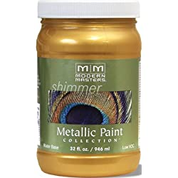 Modern Masters ME194-32 Metallic Iridescent Gold, 32-Ounce