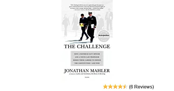 the challenge mahler jonathan