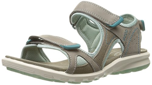 ECCO Women's Cruise Sport Sandal, Warm Grey, 41 EU/10-1.5 M US (Leather Good)