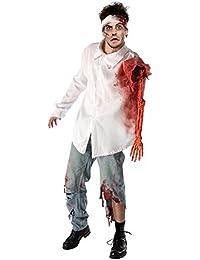 Men's Zombie Attack Costume Shirt