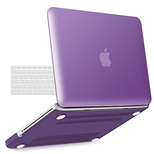 iBenzer Basic Soft-Touch Series Plastic Hard Case & Keyboard Cover Apple MacBook Pro 13-inch 13