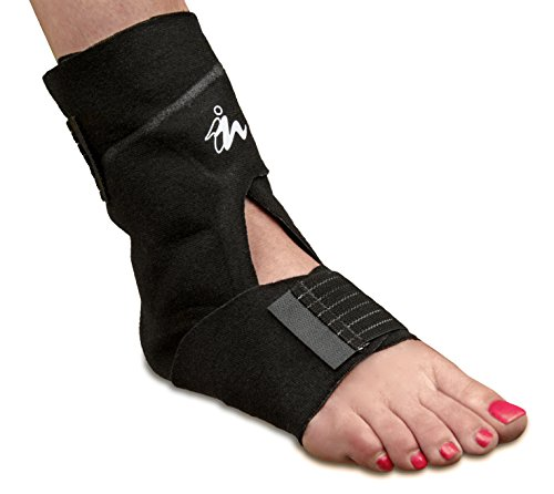 Price comparison product image Ankle Pain Relief Cooling Wrap, Injury Recovery Wrap, Clinically Tested and Proven by Doctors by Nanohealth, Inc