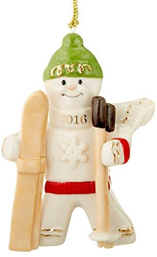 (Lenox 2016 Downhill Delight Gingerbread Ornament)