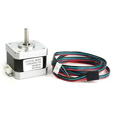 3D Printer High Torque 17 Stepper Motor 300mN 1.5A 2-phase 4-wire - 3D Printer & Supplies 3D Printer Accessories - 1 x 200mm x 30m heat resisting tape