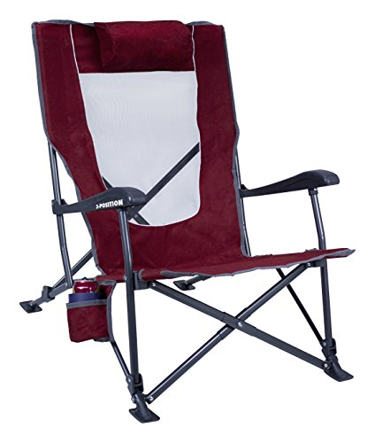 GCI Outdoor Low-Ride Reclining Camping Chair by GCI Outdoor