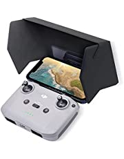 2021 VCUTECH Drone RC Sun Hood Sunshade for DJI Mini 2 and DJI Mavic Air 2, Air 2S, Magnetic and Buckle Design, Support 4.4-8.1 inch Smartphone Screen, Drone Accessories