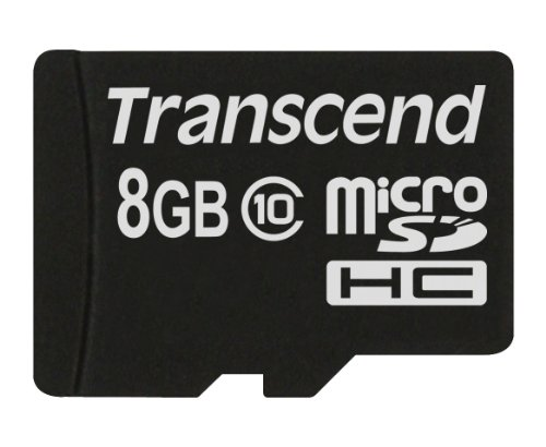 Transcend TS8GUSDC10 - Tarjeta de Memoria microSDHC de 8 GB 1