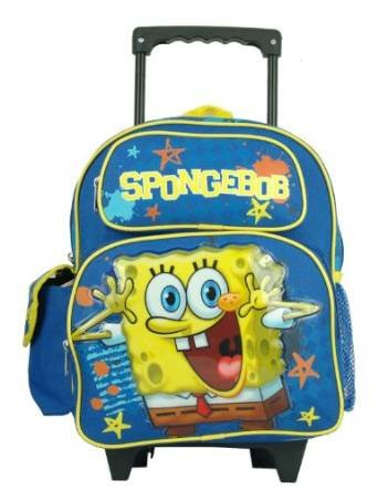 Image Unavailable. Image not available for. Color  Spongebob Squarepants  Toddler 12 quot  Rolling Backpack c60d875ac0204