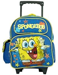 Spongebob Squarepants Toddler 12 Rolling Backpack