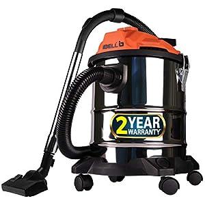 IBELL Stainless Steel Vacuum Cleaner, 20l, Silver, Black