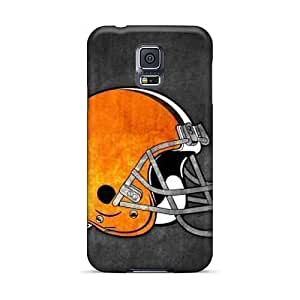 Great Hard Phone Case For Samsung Galaxy S5 With Customized High Resolution Cleveland Browns Image AshtonWells