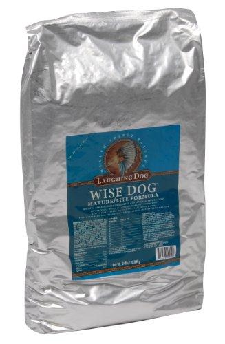 Laughing Dog Wise Dog Senior/Lite Formula, 24-Pound Bag, My Pet Supplies
