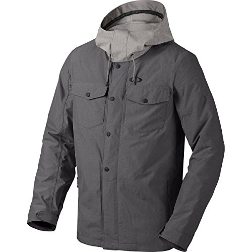 (Oakley Men's Division BZI Jacket, Medium, Jet Black)