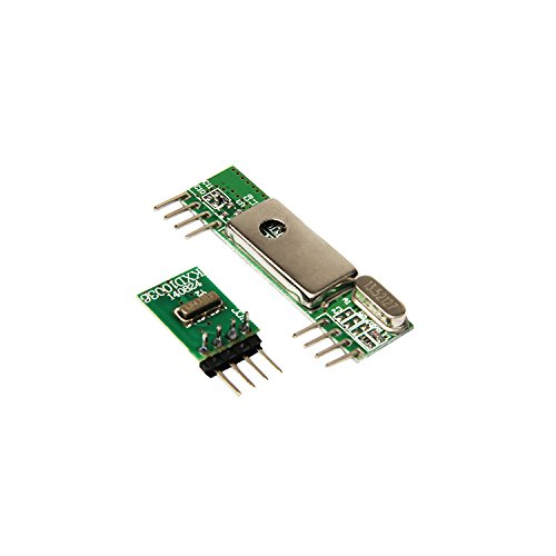 RioRand(TM) 433MHz Superheterodyne RF Link transmitter and receiver kits 3400 for ARM / MCU