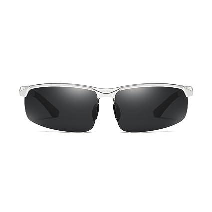 DT Gafas de Sol Hombres Gafas polarizadas Conducción Gafas Conducción Conductor Pesca Gafas (Color :