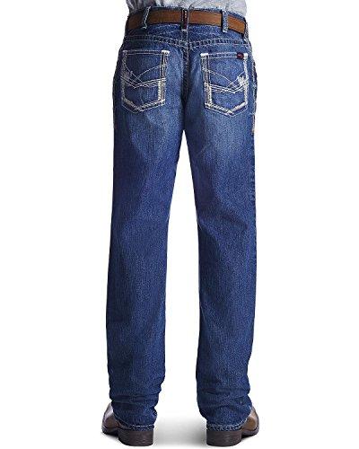 ARIAT Men's Fire-Resistant M4 Ridgeline Bootcut Work Jeans Denim 48W x 30L