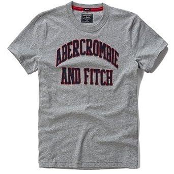 30cbdb50 Abercrombie & Fitch Men's Muscle Fit Tee T-Shirt (MEDİUM, Gray 16):  Amazon.co.uk: Clothing